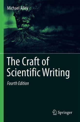The craft of scientific writing/Alley