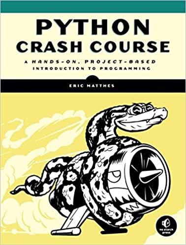 Python Crash Course/Matthes