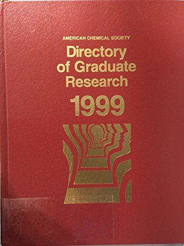 Directory of Graduate Research 1999
