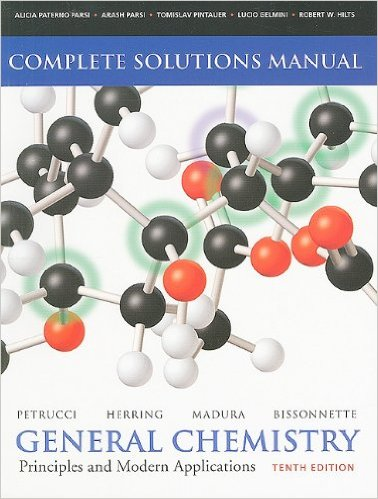 Solutions Manual for General Chemistry Petrucci